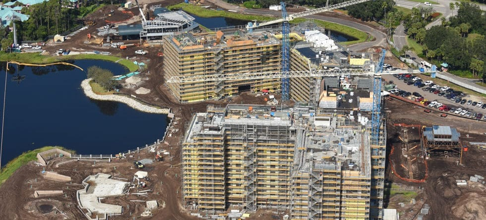 Photo Update: Disney Vacation Club Riviera Resort Construction