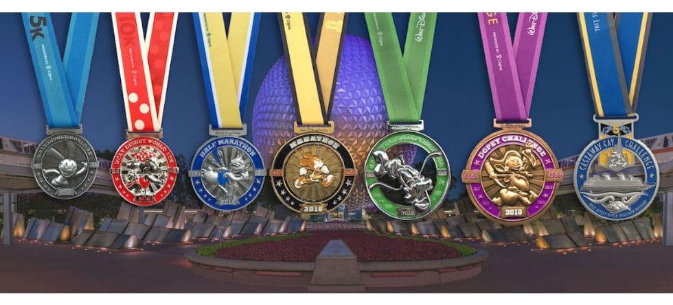 runDisney medals revealed for Walt Disney World Marathon Weekend 2019