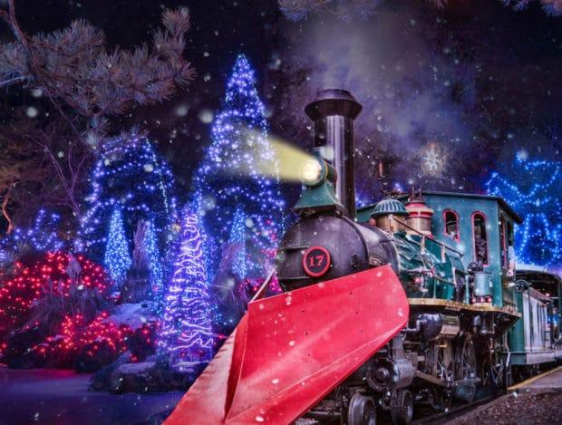 Busch gardens williamsburg celebrates 10 years of - Busch gardens christmas town rides ...
