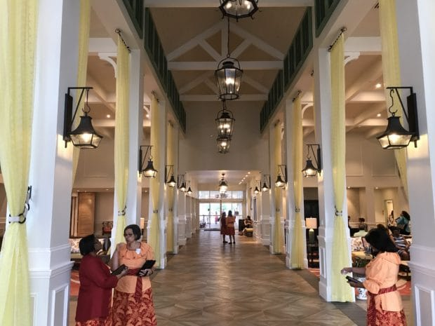 Caribbean Beach Old Port Royale Now Serves As The Of Entry For Resort With A New Porte Cochere Welcoming Guests Into Newly Renovated Lobby