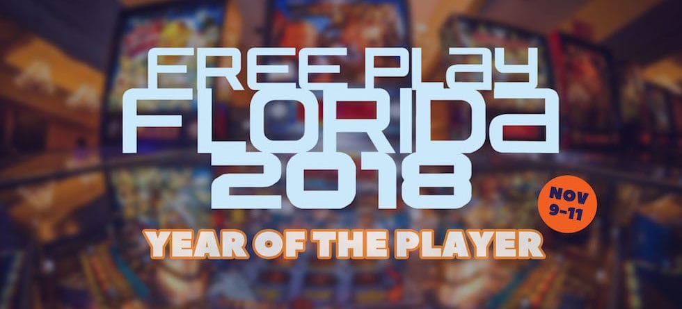 Free Play Florida 2018 returns for state's largest arcade, pinball expo