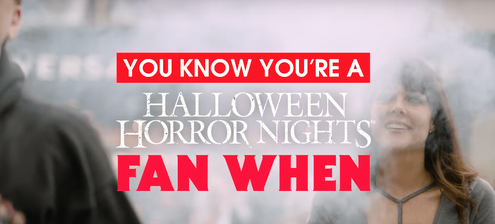 Halloween Horror Nights icons are back in new video – sort of…