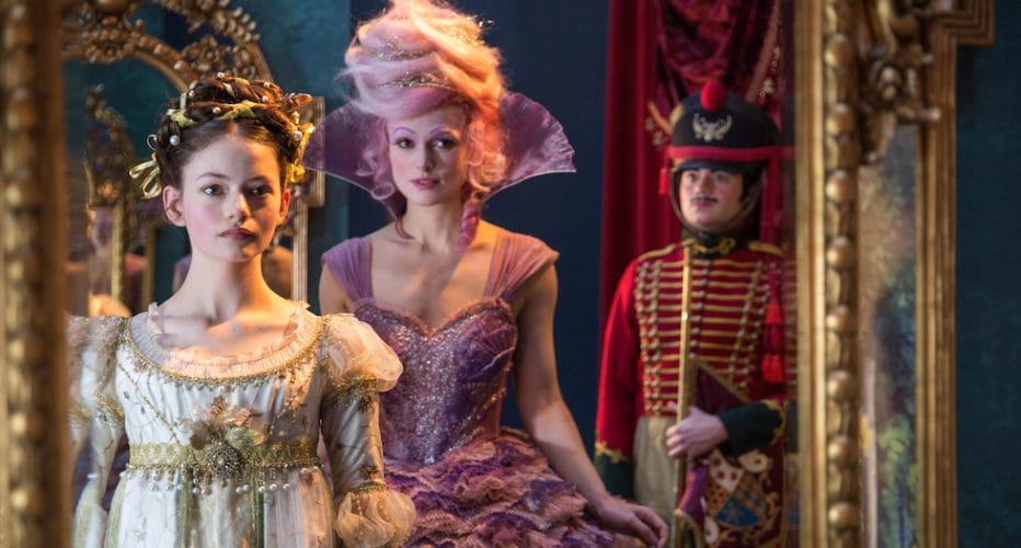 Mackenzie Foy is Clara and Keira Knightley is the Sugar Plum Fairy