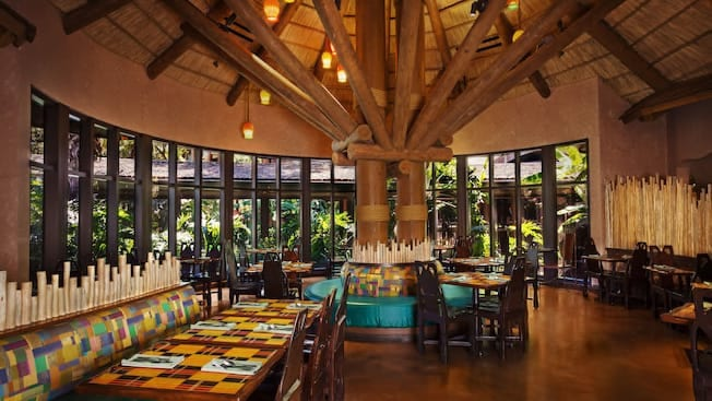 Boma, Flavors of Africa, Top 5, Table Service