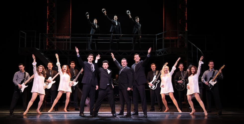 the Company of Jersey Boys.