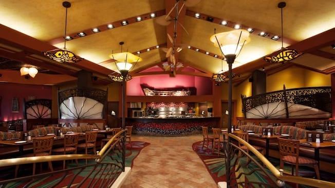 Kona Cafe, Top 5, Table Service