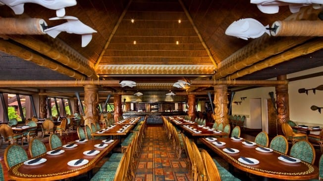 Ohana, Top 5, Table Service