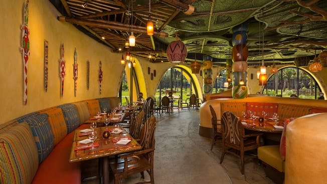 Sanaa, Animal Kingdom Lodge, Top 5, Table Service