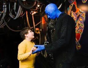 Blue Man Group autism speaks