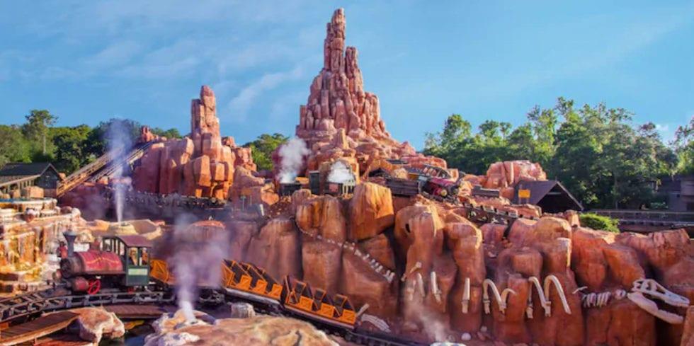 Big Thunder Mountain, by Disney