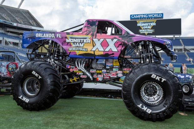 Monster Jam World Finals XX truck