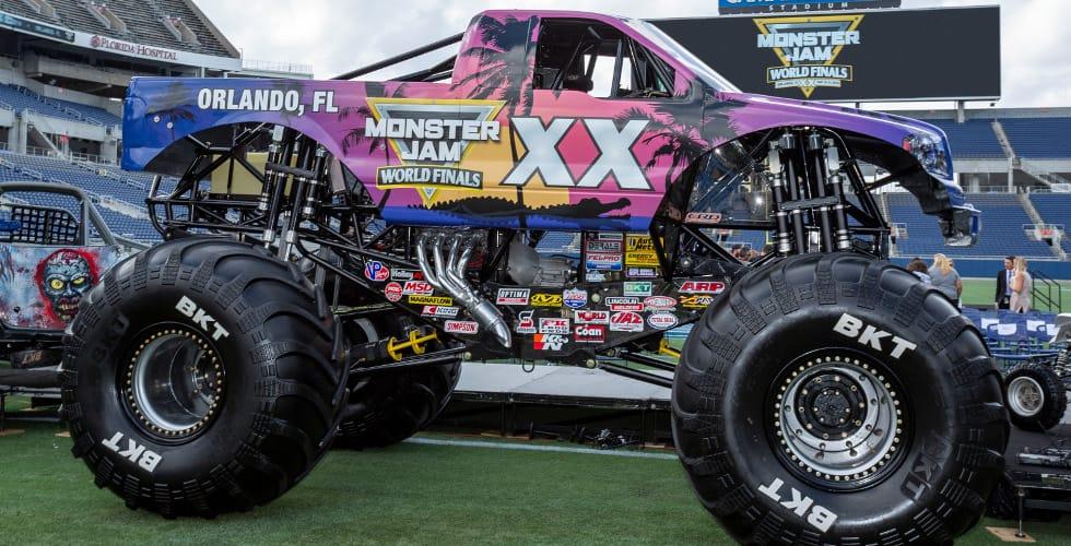Monster Jam World Finals XX in Orlando