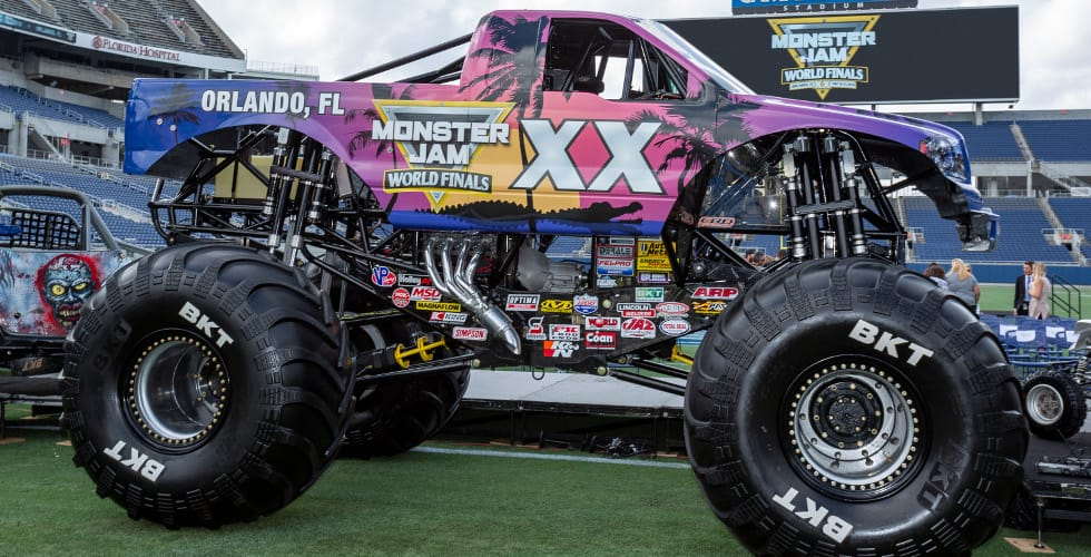 Orlando Hosts Monster Jam World Finals Xx In May 2019