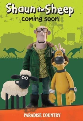 Shaun the Sheep at Australia Paradise Country