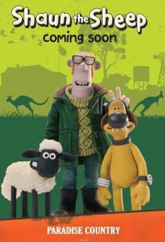 Shaun the Sheep at Australia Paradise Country
