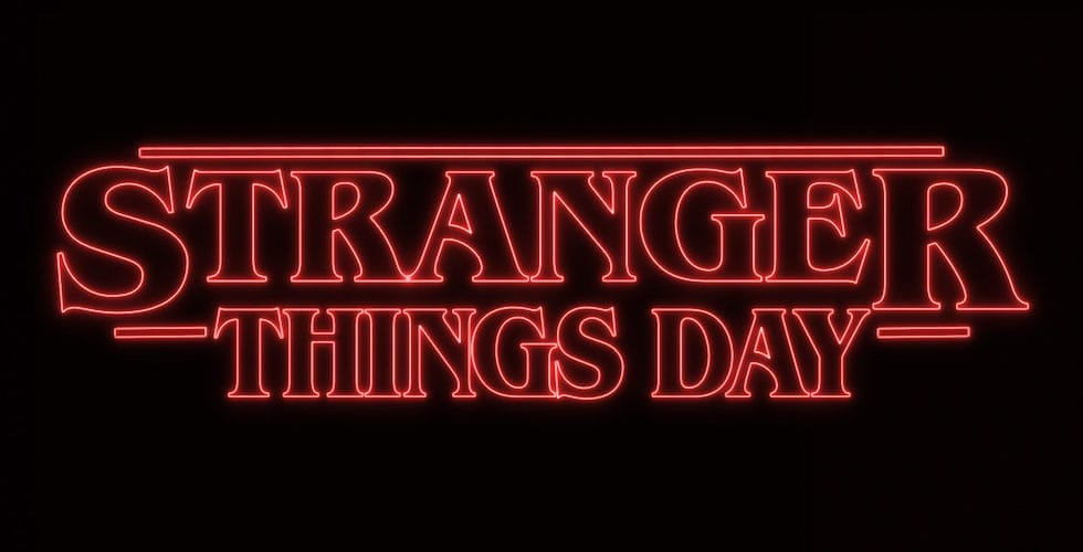 stranger things day