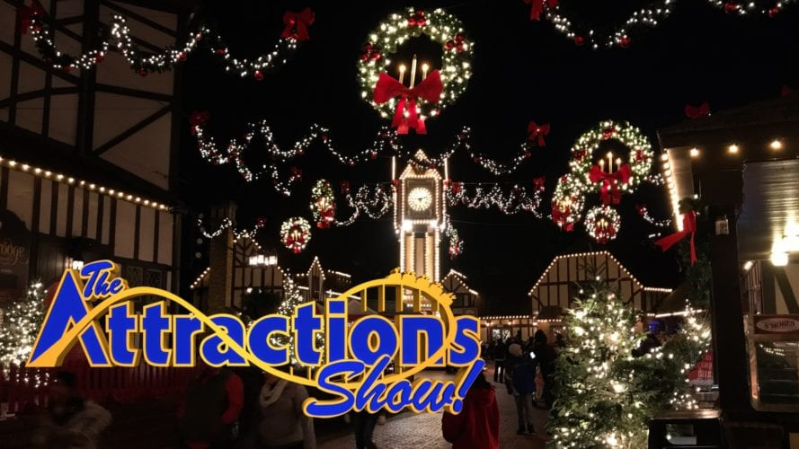 The attractions show busch gardens christmas town and - Busch gardens christmas town rides ...