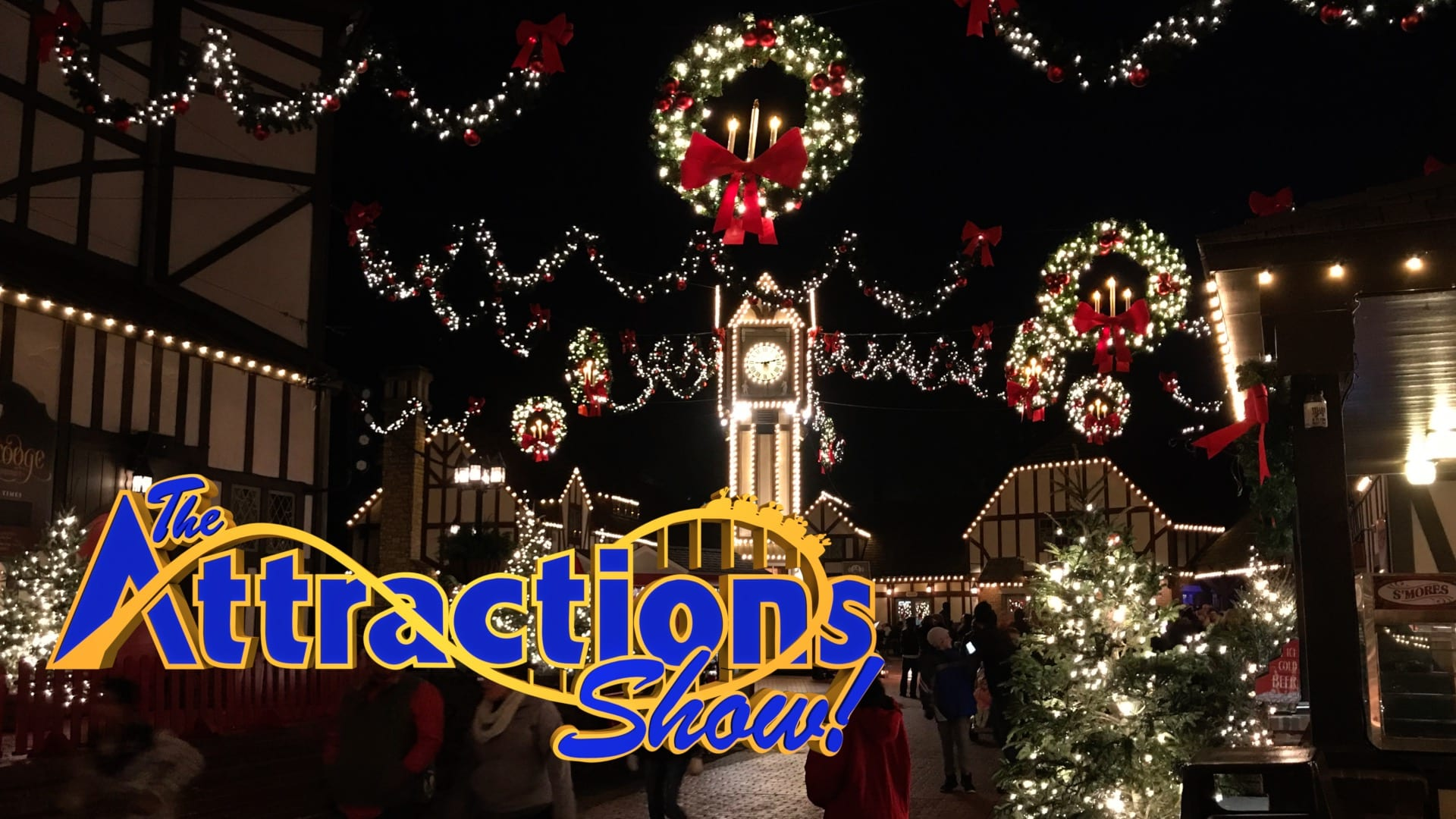 Rumors Bar And Grill >> The Attractions Show - Busch Gardens Christmas Town and Knott's Merry Farm