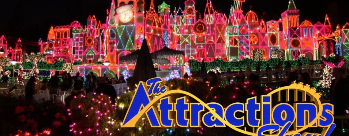 The Attractions Show! – Holidays at Disneyland Resort; Disney Springs scavenger hunt; latest news