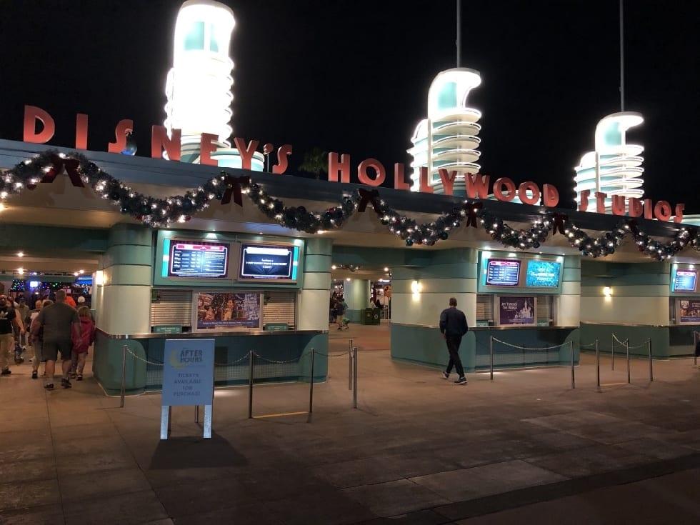 Entrance to Disney's Hollywood Studios