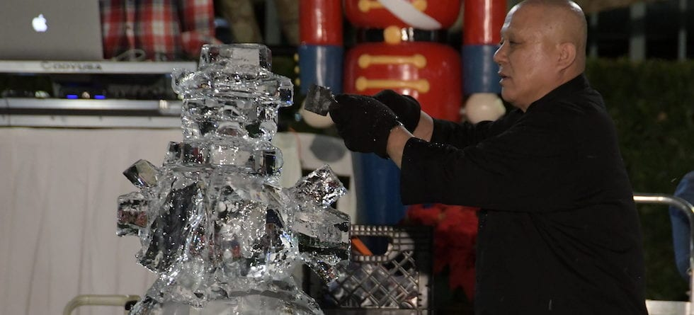 Third-annual 'Iced Out' carving competition returns to Orlando Dec. 15