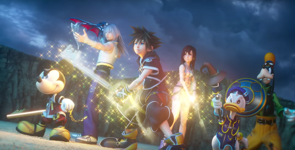 New Kingdom Hearts III opening trailer gives a glimpse at game's history