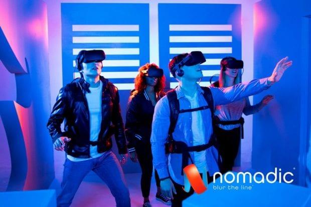 Nomadic virtual reality