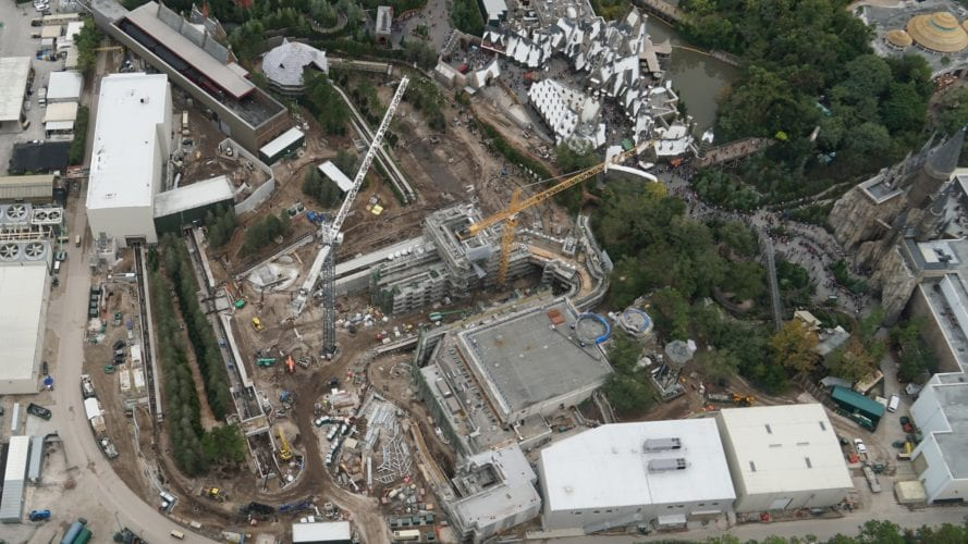 Harry Potter Coaster overview