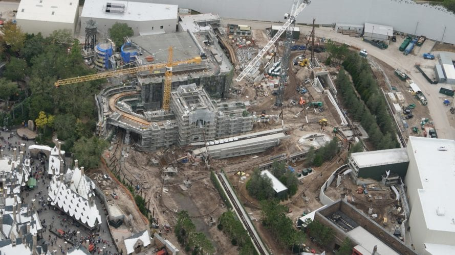 Harry Potter Coaster overview 2
