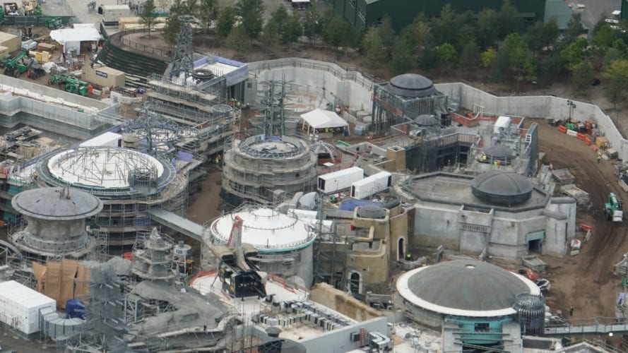 Rooftops of Galaxy's Edge