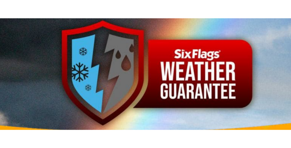 six flags weather guarantee