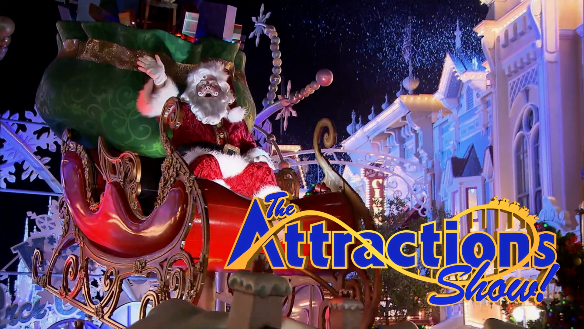 Christmas Theme Park.The Attractions Show Christmas At Theme Parks Around The