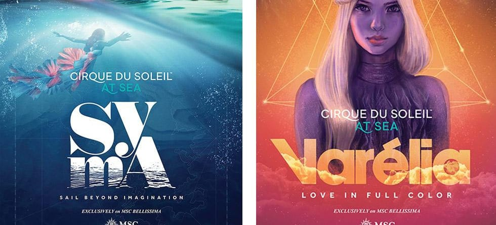 Two new Cirque du Soleil shows to debut on MSC Cruises