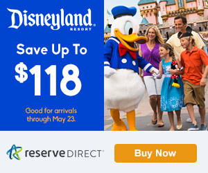 Save Up to $118 at Disneyland Resort with Reserve Direct