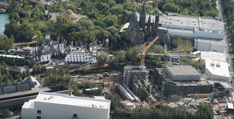 Featured Image, Harry Potter Roller Coaster