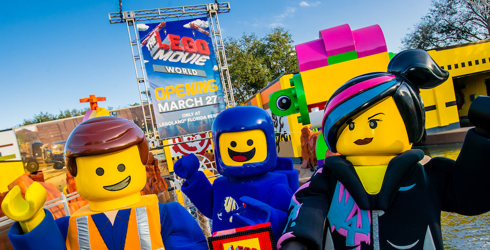 Legoland Florida announces opening date for The Lego Movie ...