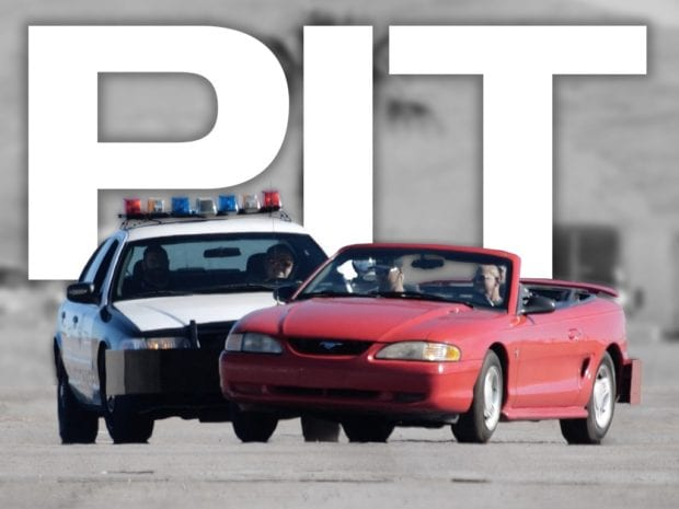 Police Chase Experience Las Vegas pit maneuvers