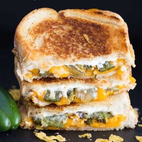The Giddy Piggy - Jalapeño Popper Grilled Cheese