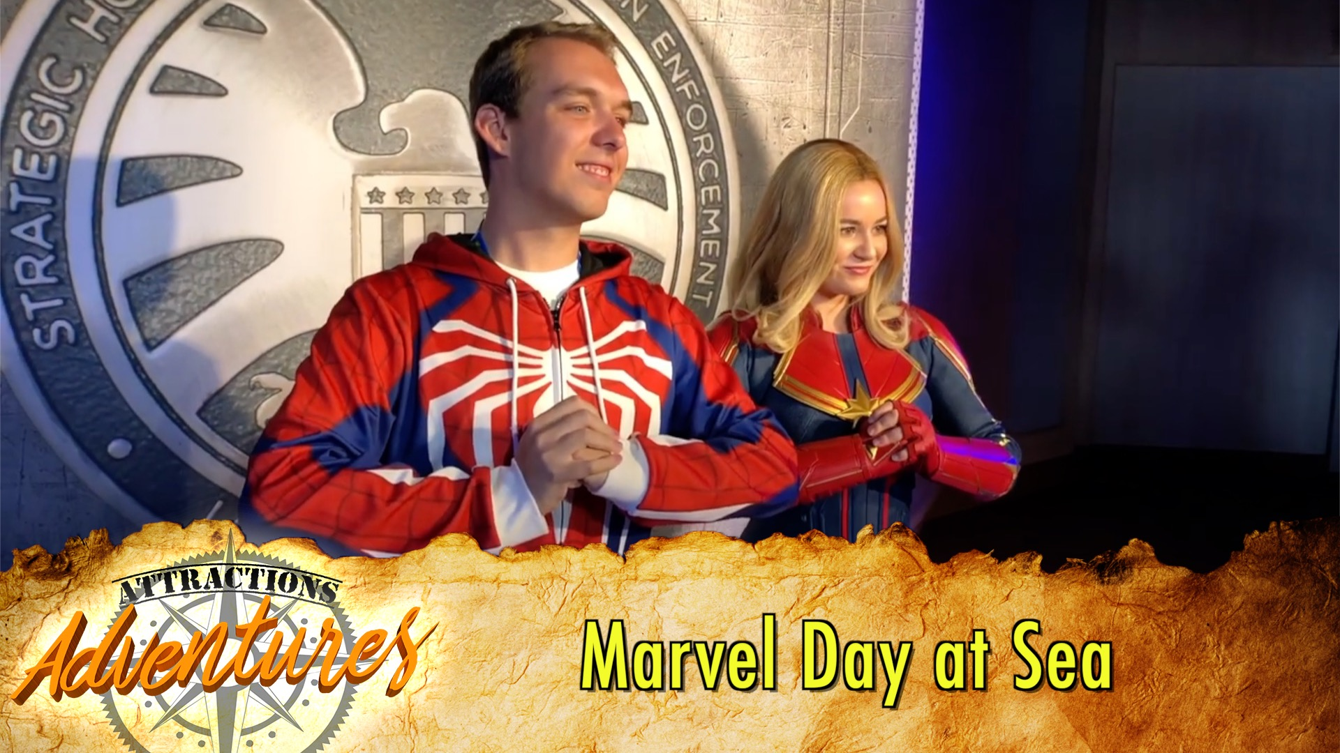 Marvel Day At Sea On The Disney Magic Cruise Attractions