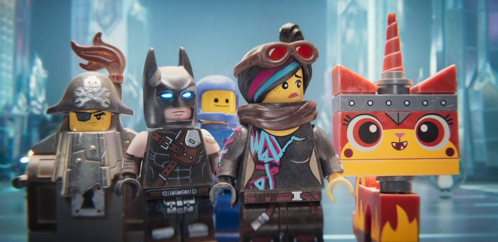 Some of The Lego Movie 2 characters.