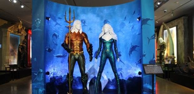 Aquaman Warner Bros Studio Tour