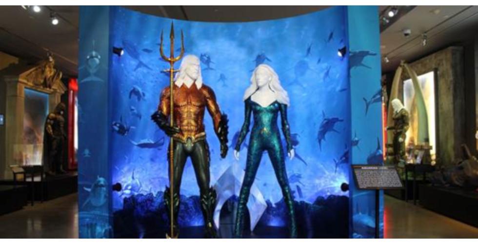 Aquaman Warner Bros Studio Tour Hollywood