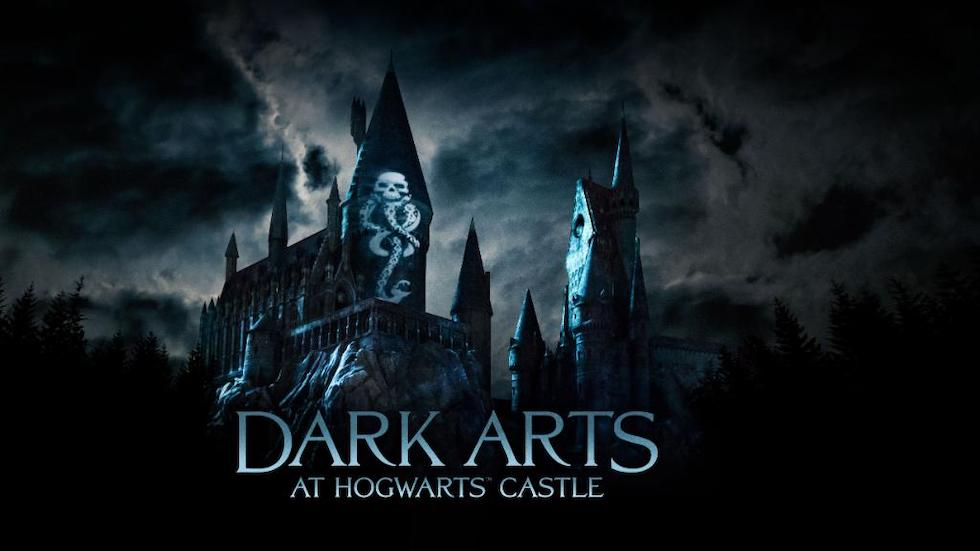 dark arts at hogwarts castle