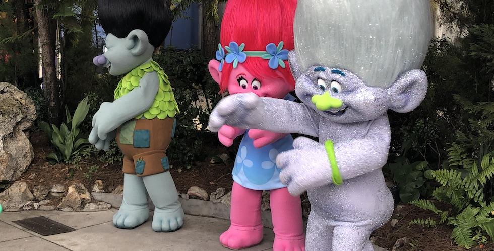 Guy Diamond Troll at Universal Orlando.