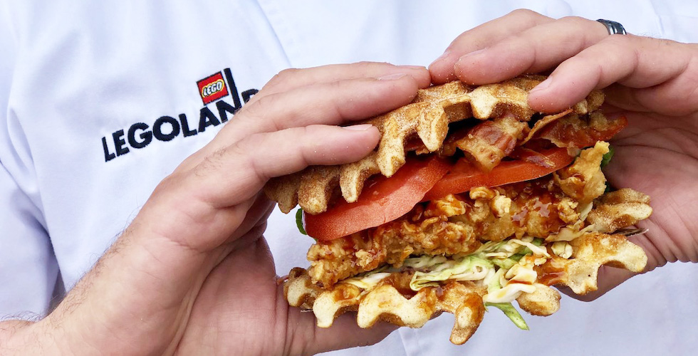 Kickn Chicken Co Now Open At Legoland Florida Resort