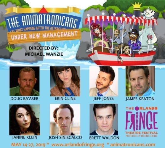 Animatronicans Under New Management cast