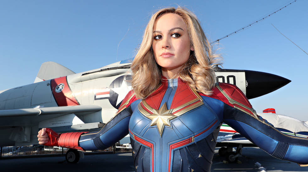 Captain Marvel Figure Lands At Madame Tussauds New York City Check out our captain marvel costume selection for the very best in unique or custom, handmade pieces from our costumes shops. https attractionsmagazine com captain marvel madame tussauds