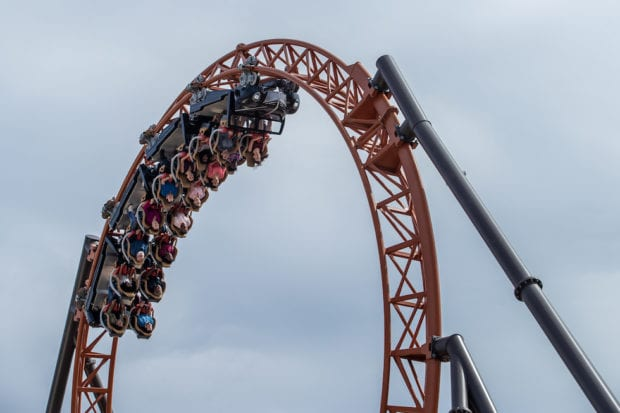 Copperhead Strike double launch coaster now open at Carowinds