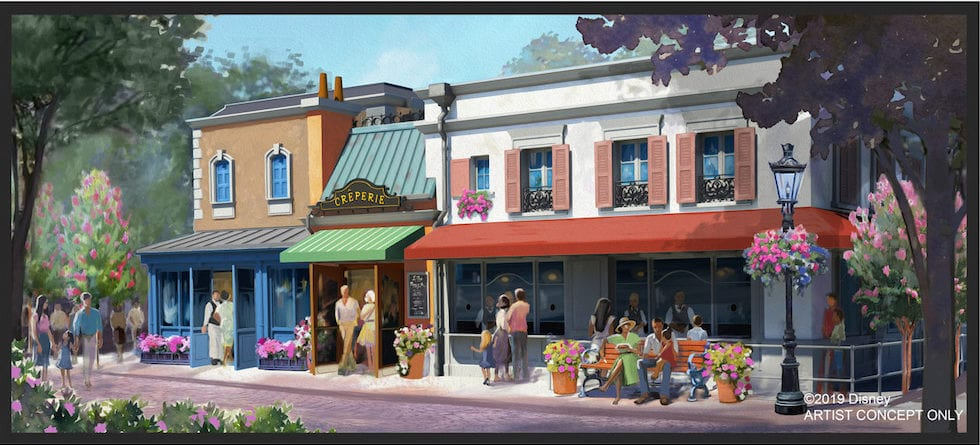 New crêperie restaurant coming to France pavilion near Remy's Ratatouille Adventure ride