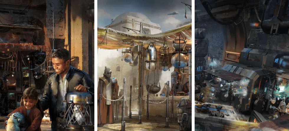New concept art released for Star Wars: Galaxy's Edge